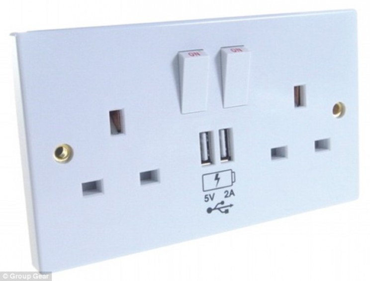 £20 UK plug cover will charge everything thanks to built-in USB port