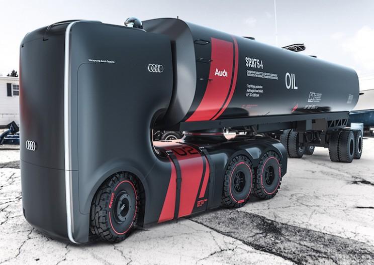 Designers Envision the Future of Audi Trucks