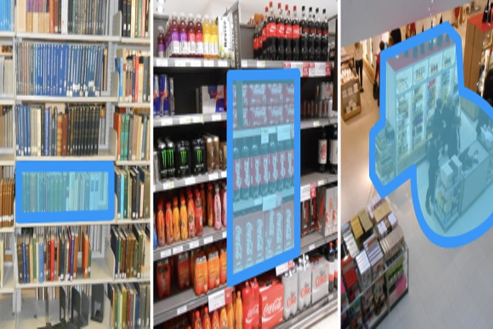 Navigate stores and libraries by barcode