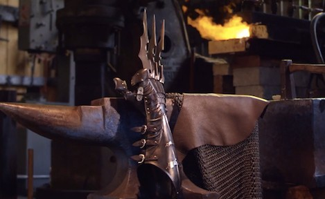 Wolverine's claws get Batman-ised in these forged armour gloves