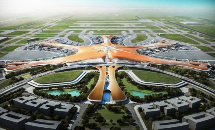 Worlds biggest airport terminal designed for Beijing, China