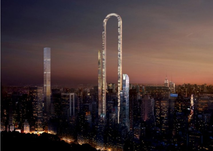 The Big Bend: U-Shaped Skyscraper Proposed for New York City