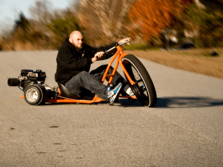 Big Wheel Drift Trike brings out the big kid in adults
