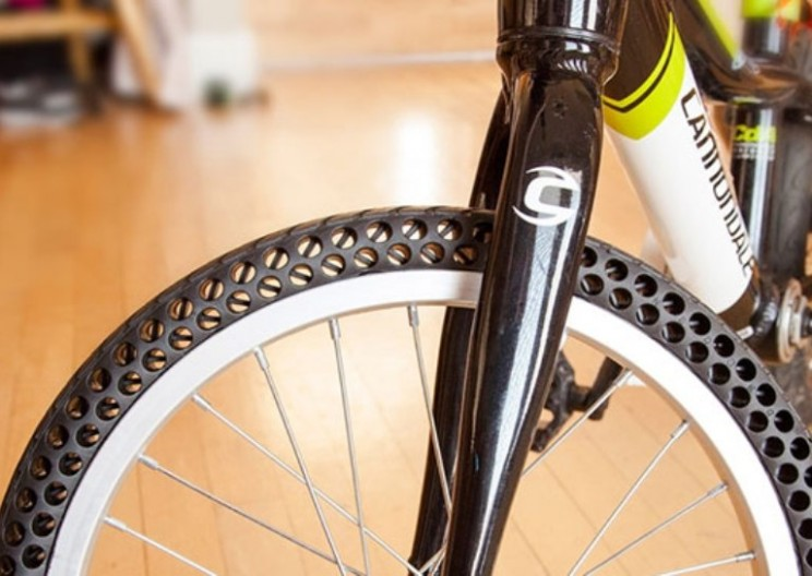 Never Get a Flat Tire Again with These New Bike Tires
