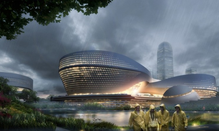 Binhai Eco City: A sustainable green city