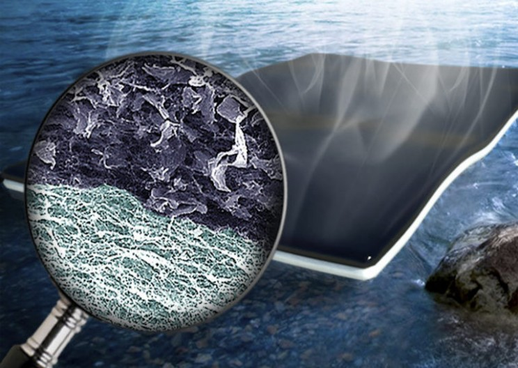 Graphene Sheets Clean Water Fast and Effectively