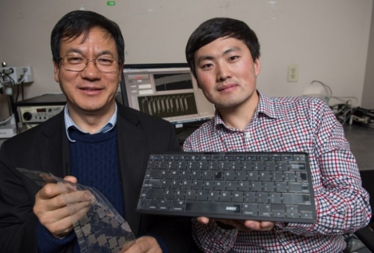 Intelligent Keyboard that's self-powered can identify users