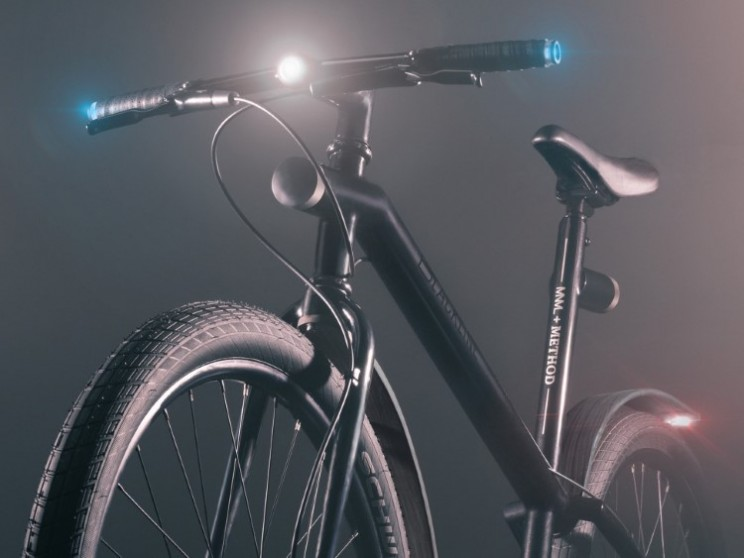 Blackline bike is a stylish tech-packed bicycle