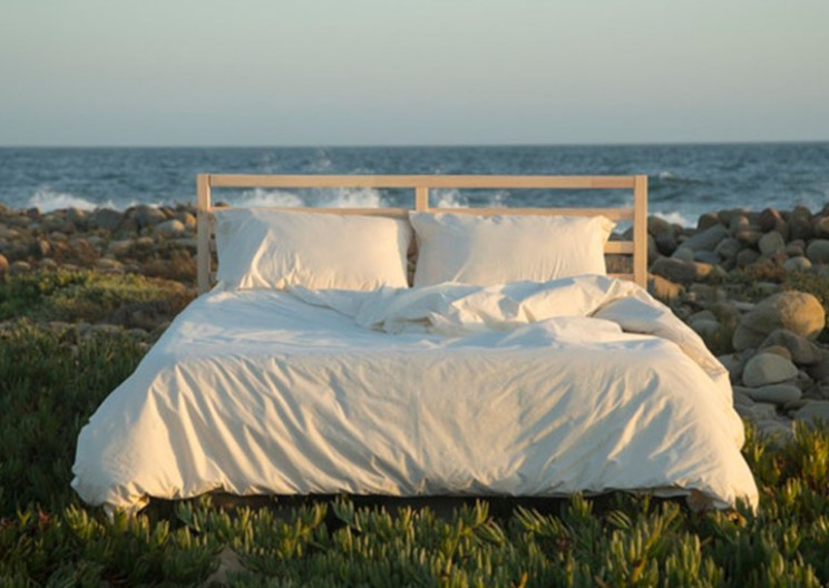 These Truly Organic Bed Sheets Are Made With Cotton, Rainwater and Wind