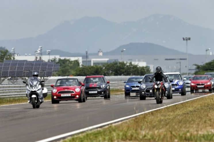 BMW Driving Centre in Incheon, South Korea, is the ultimate for driving tests