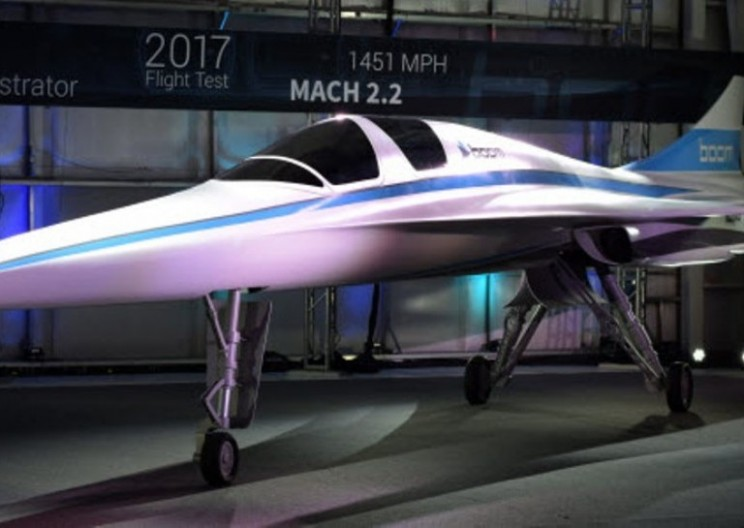 New Supersonic Jet Could Get from London to New York in 3.5 Hours