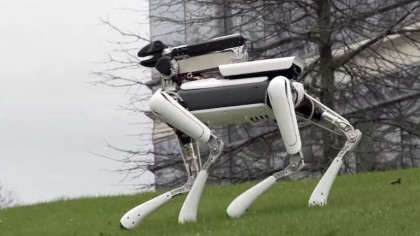 Boston Dynamics New Mini Dog Robot is a Little Too Lifelike