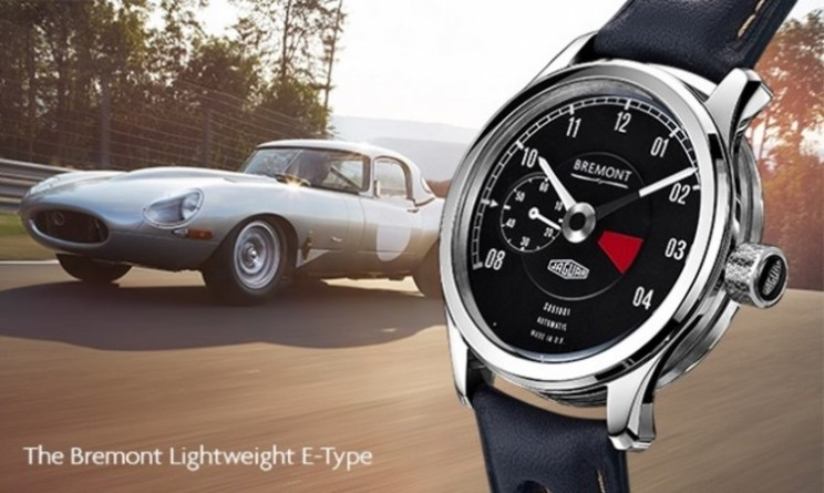 Jaguar E-Type limited edition lightweight watches from Bremont