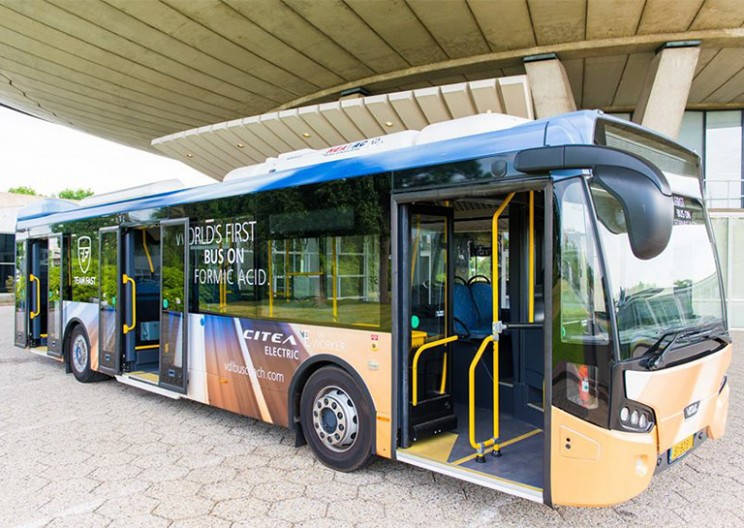 World's First Formic Acid-Powered Bus Could Hit the Road This Year