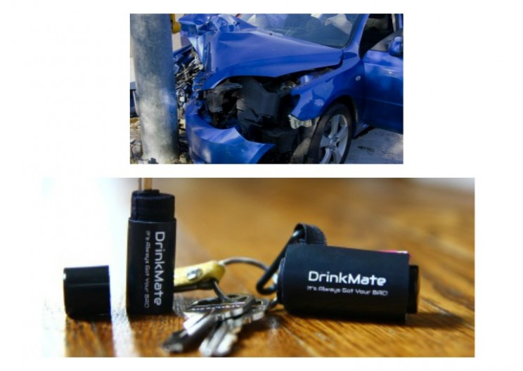 Smartphone Breathalyzer that Fits in your Pocket