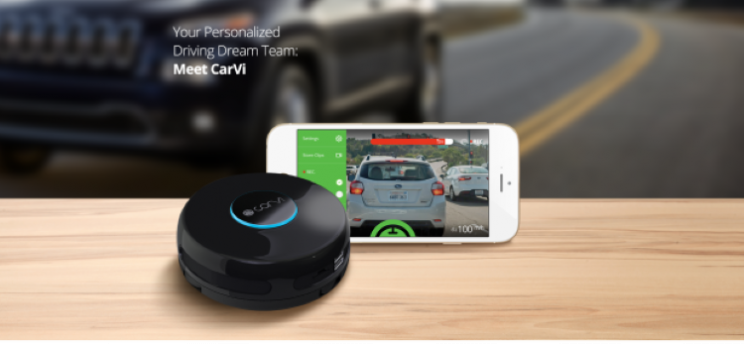 CarVi offers safety features of new cars to any car