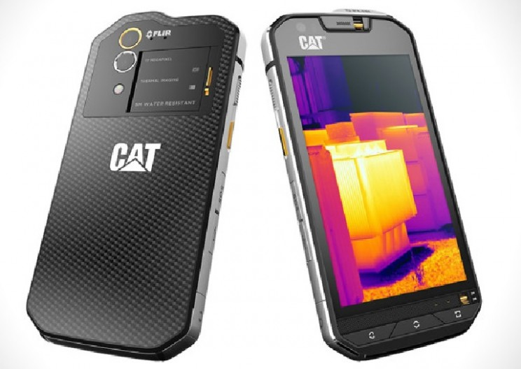 CAT Unveils New Rugged Smartphone with Built in Thermal Imaging