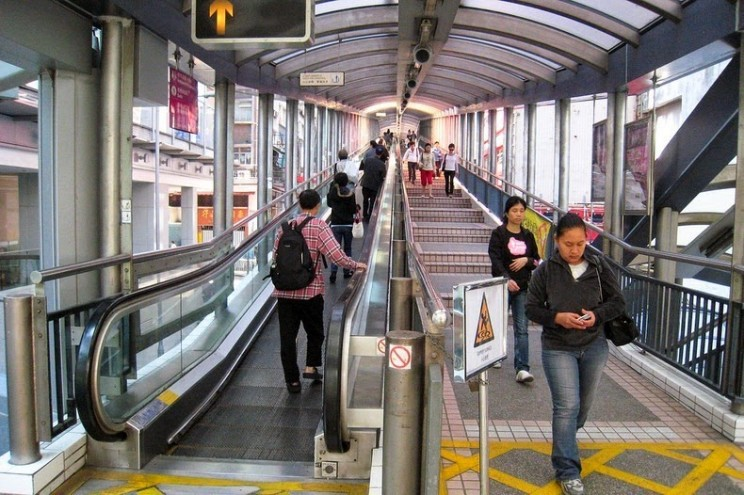 World's Longest Outdoor Escalator System