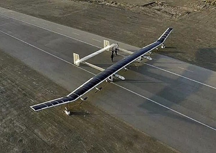 China's Largest Solar-Powered Drone Can Stay in the Air For Months