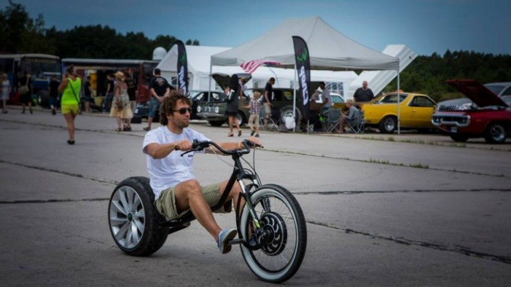 Chop E: bringing chopper coolness to electric bikes