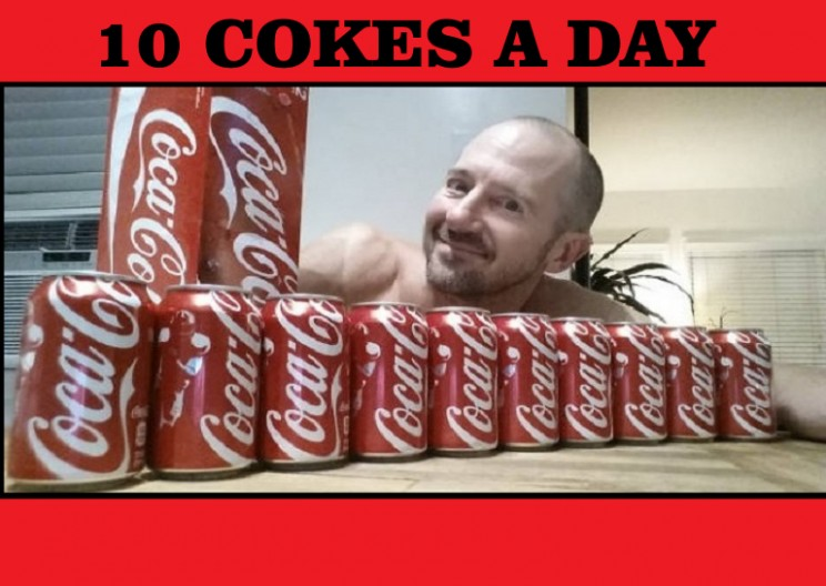Man Drinks 10 Cokes a Day to Test Theory