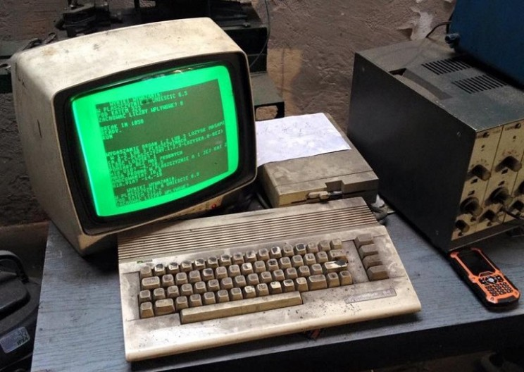 Commodore C64C Computer Still in Use After 25 Years
