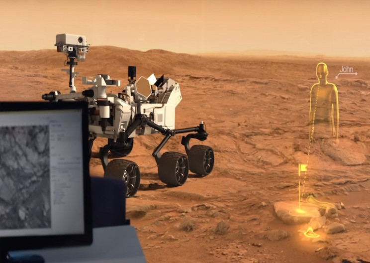 Microsoft's HoloLens can teleport you to Mars