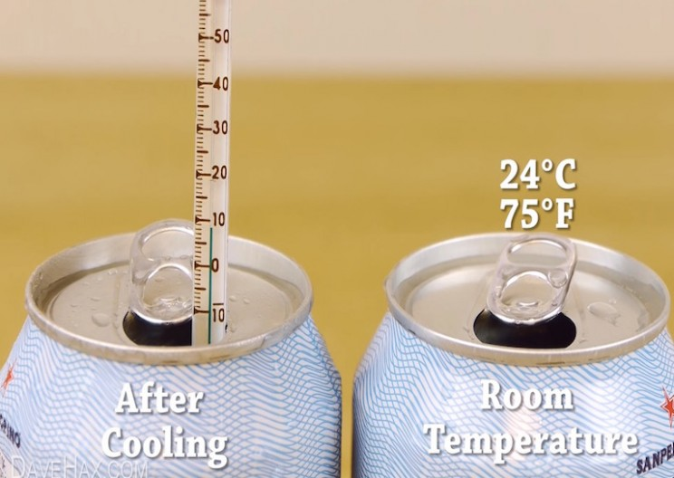 Learn How to Chill Any Drink in Under 2 Minutes