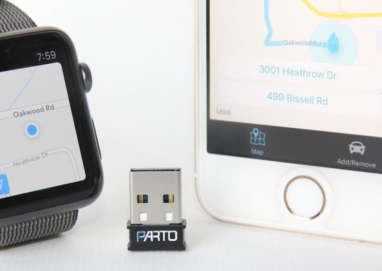 Tiny Device Helps You Remember Where You Parked!