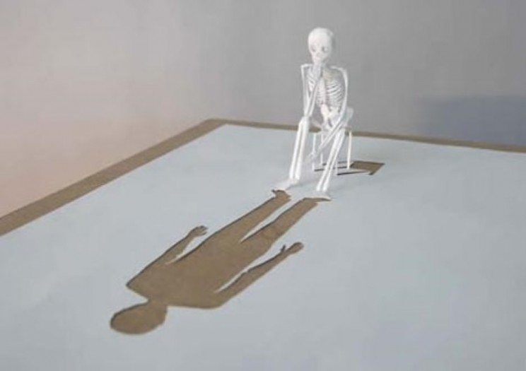 3D stunning sculptures from one plain sheet of paper