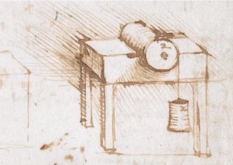 Engineer Discovers Da Vinci's Hidden Knowledge of Friction