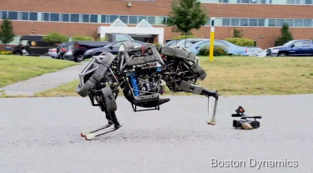 Boston Dynamics' WildCat