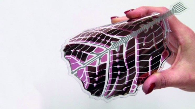 Designer flexible solar panels for small devices