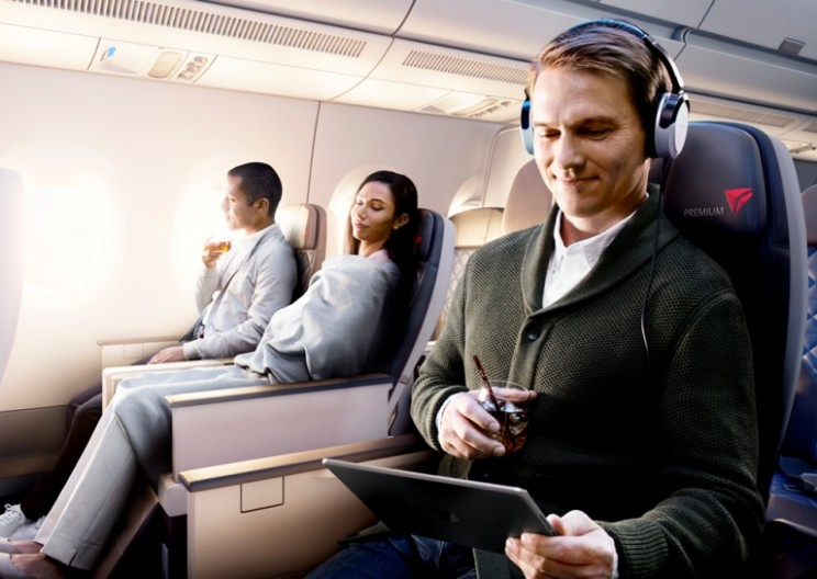Upgrade Your Flight's First Class Style with New Delta Premium