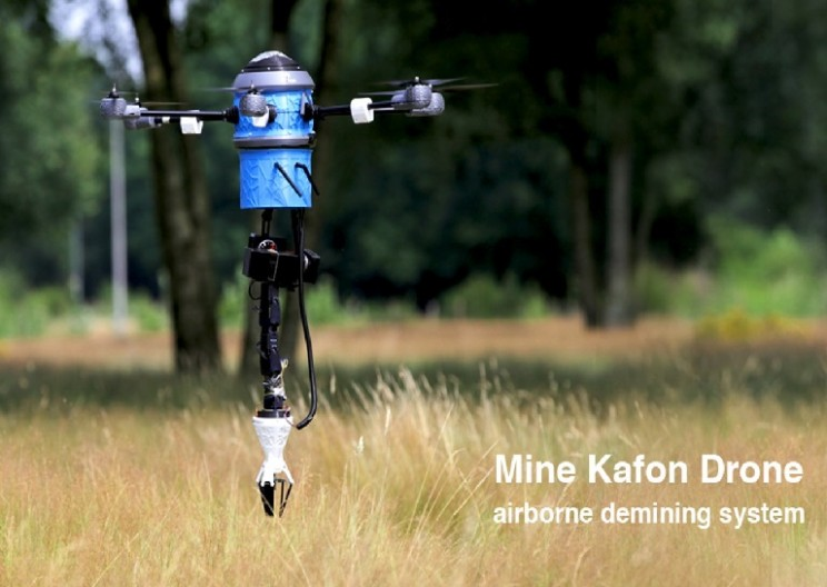 Airborne De-mining system Aims to Clear all Mines within 10 Years