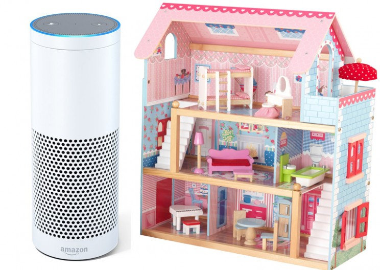 A 6-Year-Old Asks Alexa For Cookies And A Dollhouse