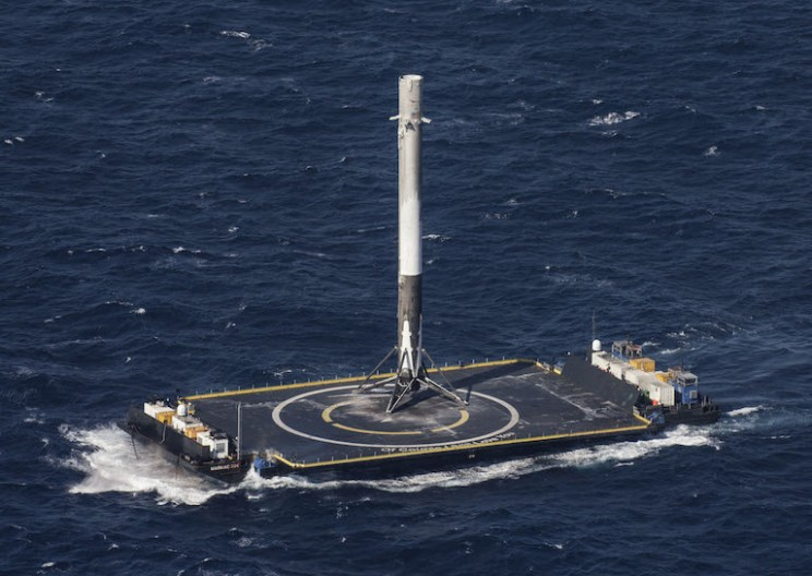SpaceX Lands on Drone Ship for 3rd Time Successfully