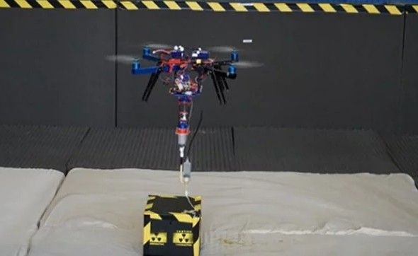 The world's first 3-D printer drone