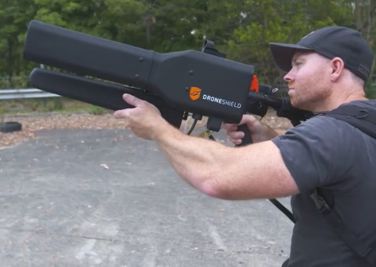 This Gun Takes Down Drones From a Mile Away