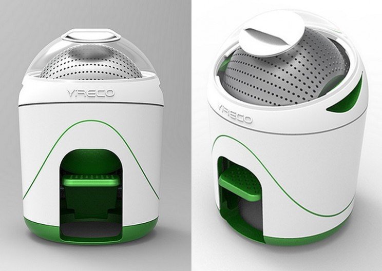 Stay Green with this Pedal Powered Washing Machine