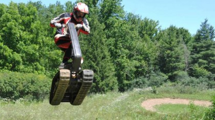 The DTV Shredder is an all new breed of all-terrain vehicles