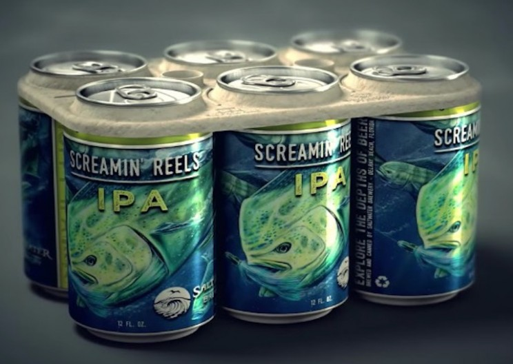 Brewery Develops Edible 6-Pack Rings to Protect Marine Life