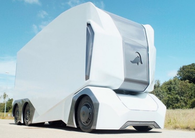 Einride Launches a Prototype for Its Driverless Electric Truck T-Pod
