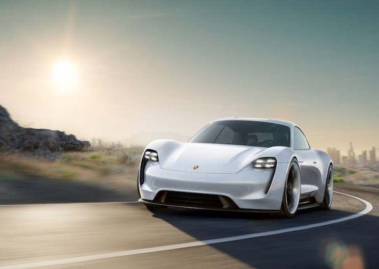 Porsche's New Electric Car is Set to Take On Tesla