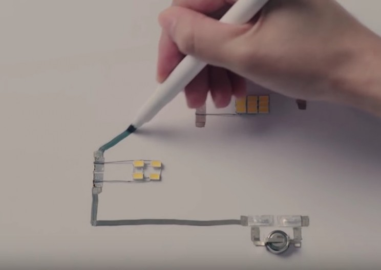 This Silver Pen Lets You Draw Electrical Circuits