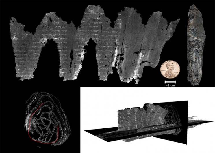 New Technology Reveals Mysteries of Ancient Biblical Scroll