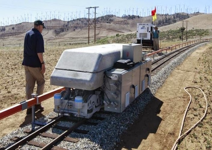 These Concrete Gravity Trains May Solve the Energy Storage Problem