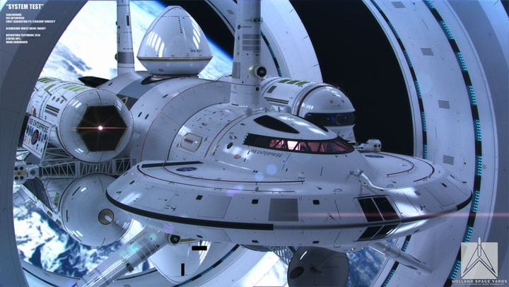 NASA releases design for a warp drive ship