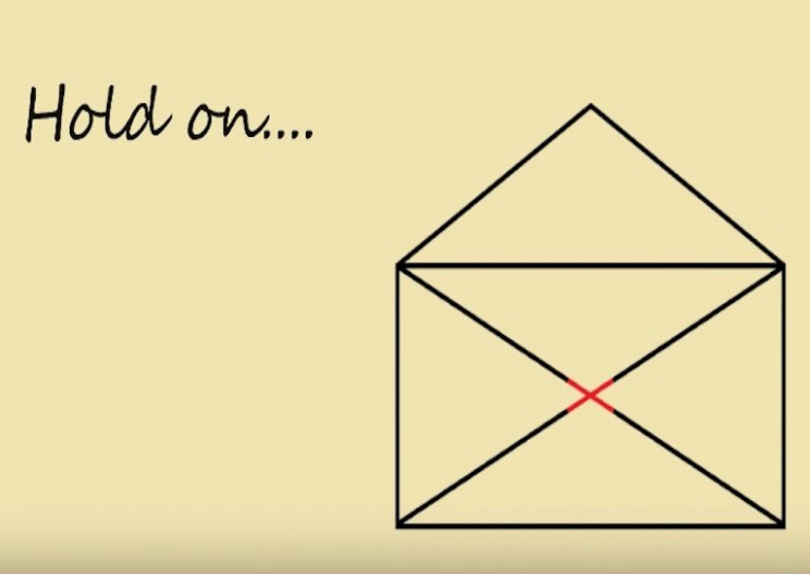Can You Solve This One Lined Envelope Riddle?