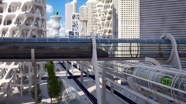These Futuristic Tubes Can Take You From New York to Beijing in Just 2 Hours